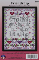 Friendship Counted Cross Stitch Kit By Design Works
