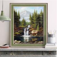Heavy Waterfall Diamond Painting Kit