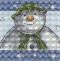 The Snowman - Snowflakes Cross Stitch Kit By DMC
