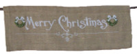 Merry Christmas Banner Cross Stitch Kit By Anette Eriksson