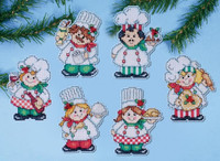 Cooking Up Christmas Cross Stitch Ornament Kit