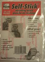 Self Adhesive Mounting Board 12.5 x 17.5cm