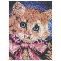 Prize Kitty Latch Hook Rug by Caron