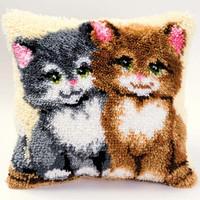Two Kittens Latch Hook Kit