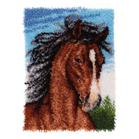 Wild Stallion Latch hook Rug Kit