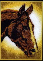 Horse Latch Hook Rug Kit