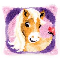 Sweet Pony latch Hook Cushion Kit