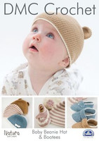 Baby Beanie Hat and Bootees Crochet pattern Booklet
