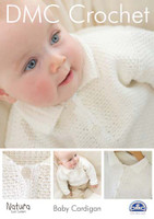 Baby Cardigan Crochet Pattern Booklet