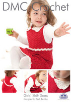 Girls Shift Dress Crochet Pattern Booklet