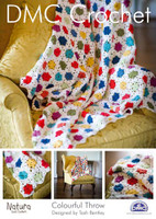 Colourful Throw Crochet Pattern Booklet