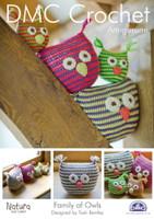 Family of Owls Crochet Pattern Booklet