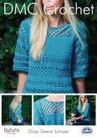 Drop Sleeve Jumper Crochet Pattern Booklet