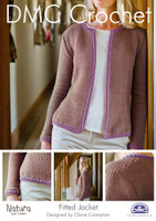 Fitted Jacket Crochet Pattern Booklet