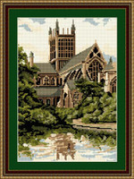 Wells Cathedral, The Bishops Garden Tapestry Kit