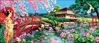 Splendeur d asie Tapestry Canvas
