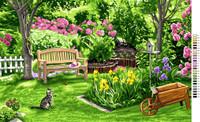 Cote Jardin Tapestry Canvas