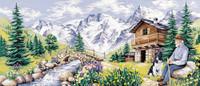 La Pause Montagnarde Tapestry Canvas