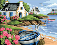 Rivage Breton Tapestry Canvas
