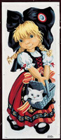 La Petite Alsacienne de pio Tapestry Canvas