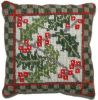 Holly Sampler Tapestry Kit