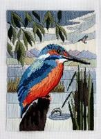 Kingfisher Long Stitch Kit