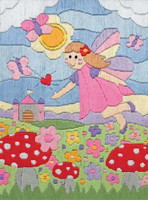 FAIRY LAND Long Stitch Kit
