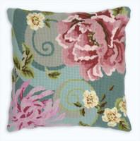 Floral Swirl in green Tapestry Kit