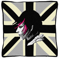 Sophie BW Tapestry cushion kit