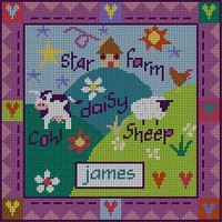 Farmyard Needlepoint Kit