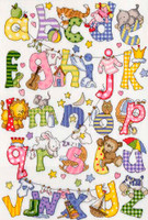 My First Alphabet Cross Stitch Kit By Bothy Threads