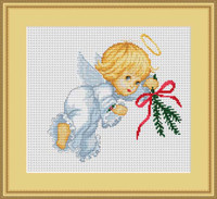 Angel Cross Stitch Kit By Luca S
