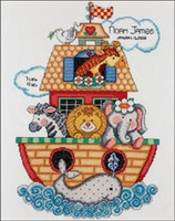Noahs Ark Birth Sampler  Bucilla Cross Stitch Kit