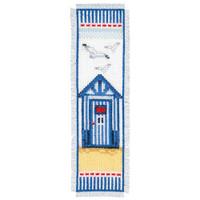 Beach Hut Bookmark Vervaco Cross Stitch Kit