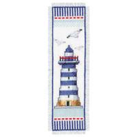Light House Bookmark Vervaco Cross Stitch Kit