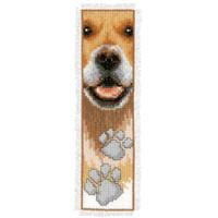 Dog Paws Bookmark Cross Stitch Kit