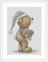 Time For Bed Bruno Cross Stitch Kit By Luca-S