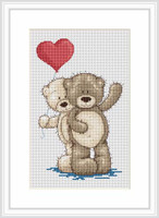 Young Love Cross Stitch Kit By Luca S
