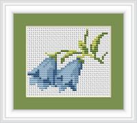 Bluebells Mini Cross Stitch Kit By Luca S