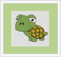 Frog Mini Cross Stitch Kit By Luca S