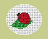 Lady Bird - Mult Of 3 Cross Stitch Kit By Luca S