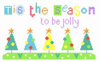 Tis The Season Cross Stitch Kit By Stitching Shed