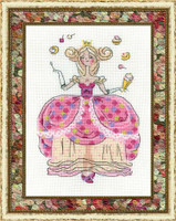 Princess Dragee Cross Stitch Kit