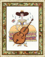 Princess Note Cross Stitch Kit