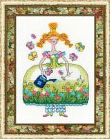 Princess Phlorina Cross Stitch Kit