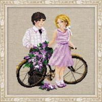 Spring Walk Cross Stitch Kit