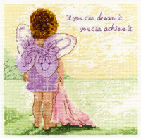 Dream To Achieve Cross Stitch Kit