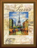 Cities Of The World, Paris ~ Cross Stitch Kit