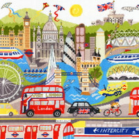 London Cross Stitch Kit