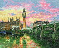 London With Big Ben Cross Stitch Kit